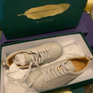 Buscemi grey tennis sneaker